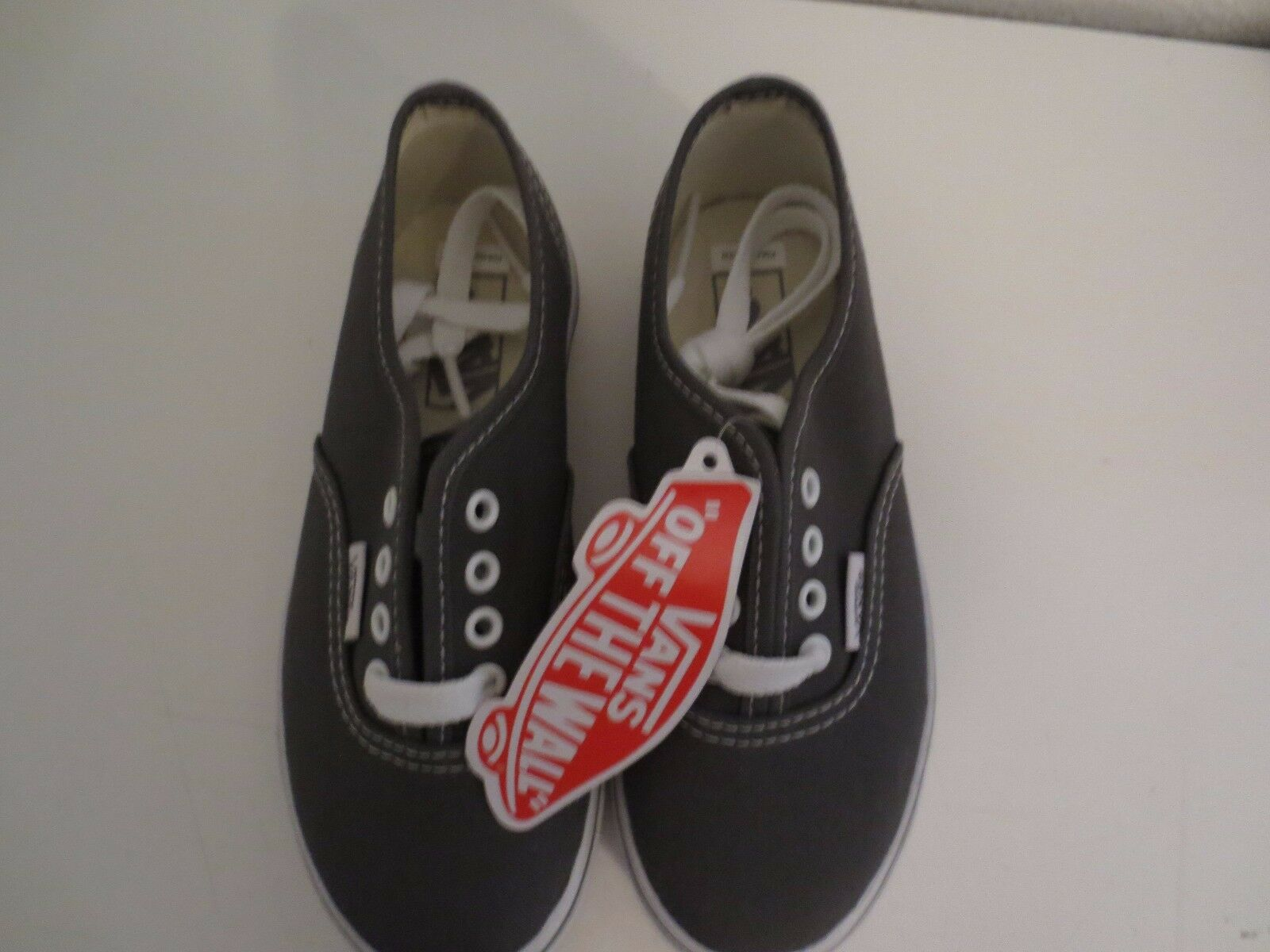 vans off the wall shoes gray