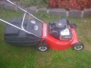 Rover Suzuki 2 stroke mower with catcher and Warranty Sunbury Hume Area Preview