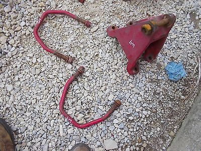 Farmall Mccormick W9 Tractor Original Ih Horseshoe Drawbar Axle Bracket Clamps