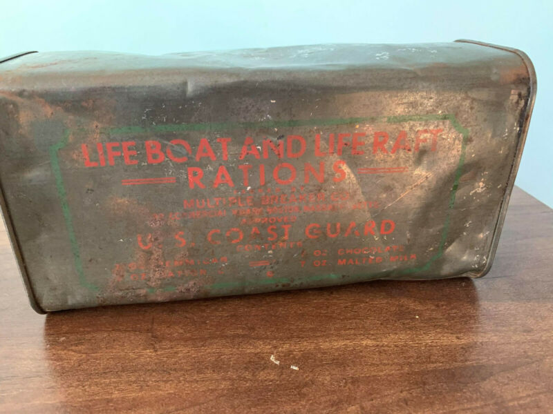 US Coast Guard/Navy LifeBoat & LifeRaft Ration. RARE!!!