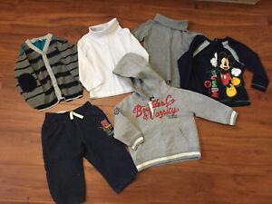 Vêtements garçon neufs 18-24 mois