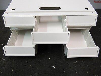 Lionville 6 Drawer Unit Compact Medical Cart Crash Supply Medication