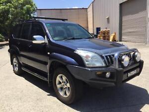 2003 Toyota LandCruiser Prado GXL V6 4.0L Auto dual fuel