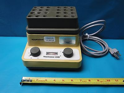 Used Eppendorf Thermostat 5320 Dry Block Bath