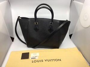 New Authentic Louis Vuitton Phenix Epi MM Handbag Purse Tote
