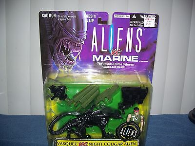 Aliens vs Marine - Vasquez vs Night Cougar Action Figures by Kenner