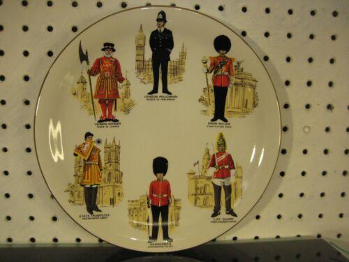 London Bobby, Beefeater, Warder, Guardsman Decorative Plate Britannia Designs