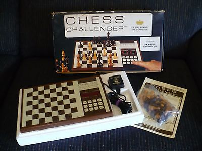 Rare Original Fidelity Chess Challenger 1 (CC1) Working in Box GUC