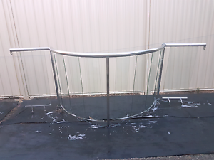 Glass fence with curve /balustrade/verandah/balconie Ningi Caboolture Area Preview