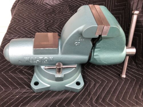 "Wilton C1 Bullet Vise, 4-1/2"" Jaws, Refurbished, 01-98 Date, VERY Nice, USA"