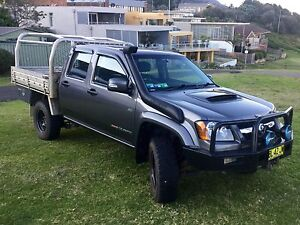 Holden Colorado 4x4 Crew Cab Chassis Coledale Wollongong Area Preview