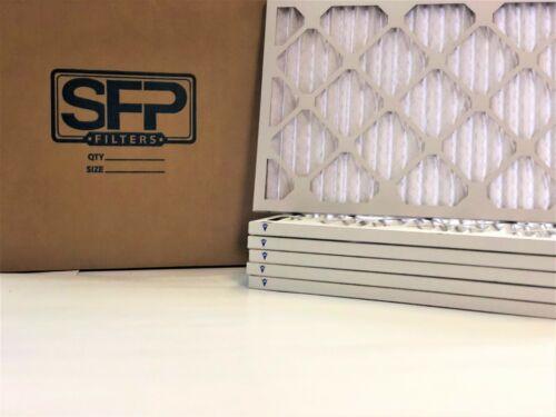 20x25x1 Pleated AC HVAC Furnace Filters Merv 13 6 pack