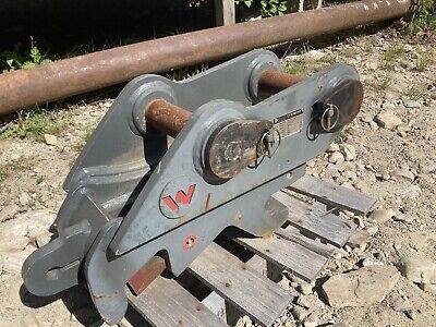 New Genuine Wacker Neuson 8003 Excavator Hydraulic Quick Coupler W Plumbing Kit