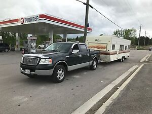 Camper trailer and truck combo