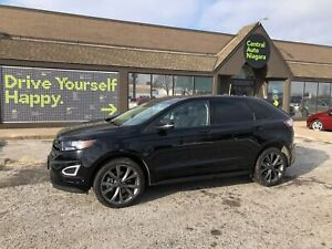 2018 Ford Edge SPORT/ AWD / NAVI / SUNROOF / COOLED SEATS