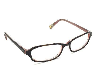 Paul Smith PS-276 OABL Women's Tortoise Rectangular Eyeglasses 52-16 140 Japan