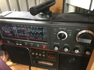Radio back in the day type antique style