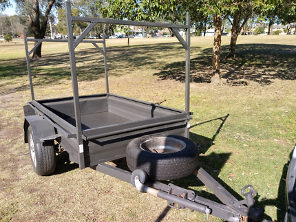 Box trailer 6ft x 4ft with ladder rack Windsor Hawkesbury Area Preview