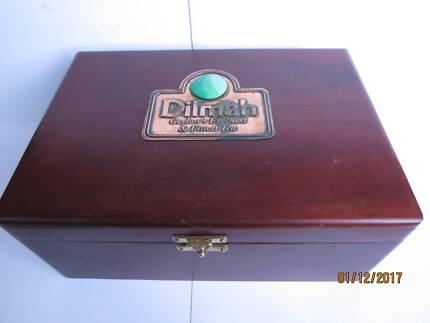 """Dilmah Ceylon's"" tea caddy"