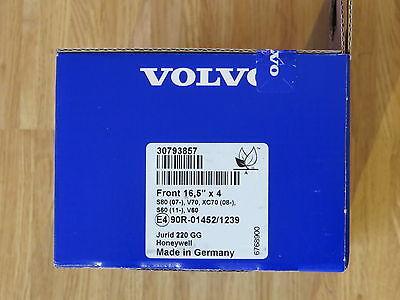 157 03//15 EBC Yellowstuff VA DP41932R für Volvo V60 2.0 D4 Kombi 155