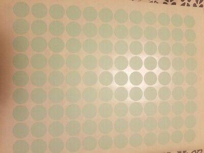 108 Pastel Green Blank Rummage Garage Yard Sale Stickers Labels Price Tags