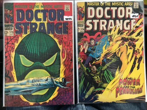 Dr. Strange #172 & 174, Marvel Comics