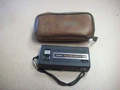 Vintage Kodak Tele-Instamatic 608 Film camera with case for sale  Shipping to Canada
