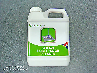 LIQUID SCIENCE FLOOR CARE SAFETY FLOOR CLEANER 1 LTR