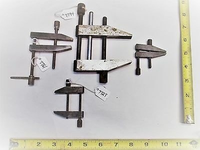Machinist Parallel Clamps Lot Of 4 Clamps 1 Starrett 3 Unmarked Usa