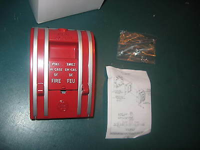 New In Box  Edwards Ge Fire Alarm Pull Box Manual Station Cat  270-spowb