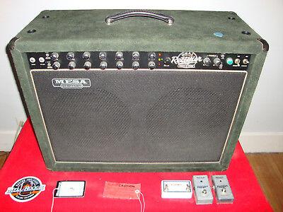 Mesa Boogie Dual Rectifier Amplifier Tremoverb Guitar Combo - Rare Green Suede!