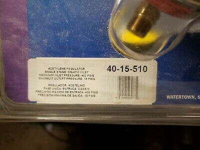 Miller Heavy Duty High Flow Regulator Series 40 Acetylene
