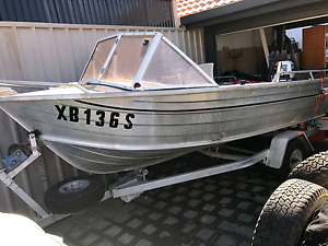 14 ft stacer tinnie 30hp Adelaide CBD Adelaide City Preview