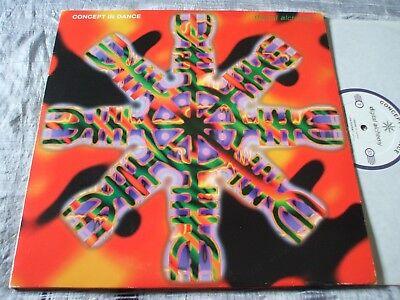Concept in Dance Digital Alchemy ORIG U.K. 1994 XL Goa Double Gatefold LP VG+/EX