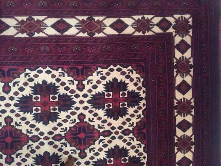 Hand Knotted  persion (Afghani qallin) rug 200x300 Joondalup Joondalup Area Preview