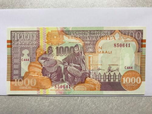 1990 Somalia 1000 Shillings CU #299