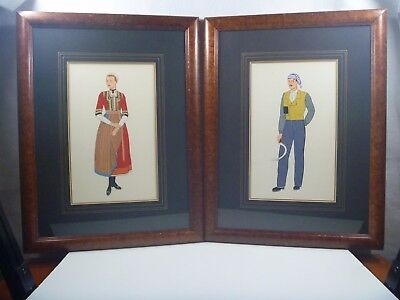 Vintage 1920-30's Pochoir French Fashion Prints--#2
