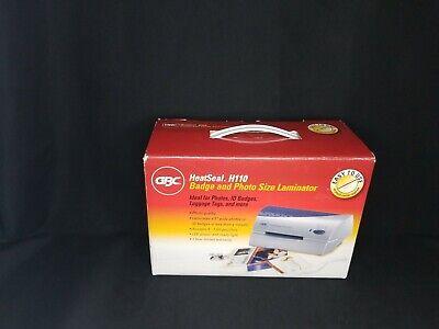 Gbc Heatseal H110 4.5 Pouch Personal Laminator
