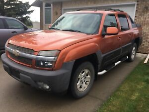 2004 Avalanche 4wd Z71