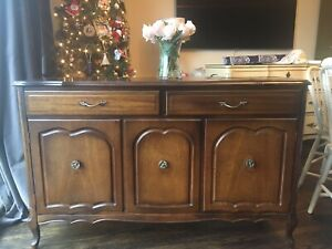 Beautiful antique French country sideboard.