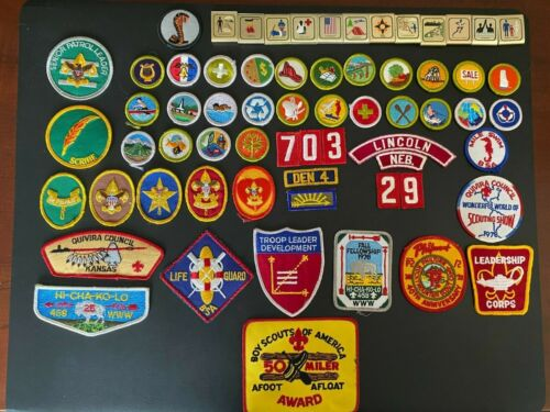 Boy Scout Badges and Patches
