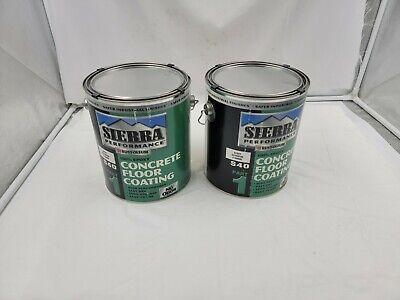 2 Rust-oleum 208066 Sierra S40 Part 1 Epoxy Floor Coating High Gloss Clear