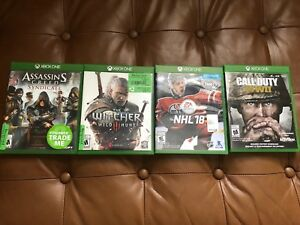 Assassins Creed, Witcher, NHL, Call of Duty