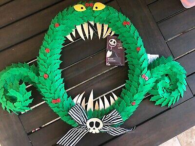 Disney Parks Nightmare Before Christmas Wreath 25th Anniversary Jack