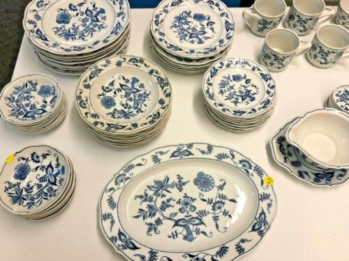 BLUE DANUBE CHINA PATENT NO. 99183. 71 Pieces Great Condition