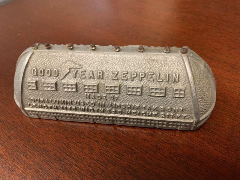 Goodyear Zeppelin Airship Dock Bank Akron Ohio