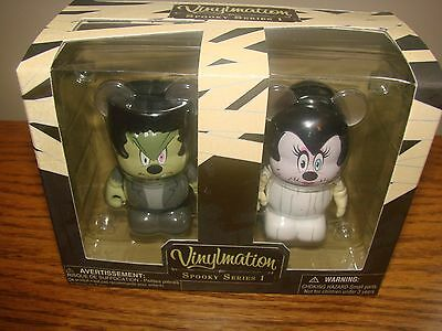 DISNEY Parks VINYLMATION Set Of 2 SPOOKY Series #1 Collection Halloween 3