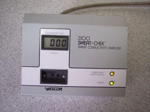 Wescor 3100 Sweat-Chek Sweat Conductivity Analyzer