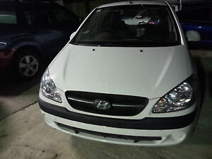 GETZ HYUNDAI PARTS AND WRECKING DAMAGED SALVAGE TB 2002-2011