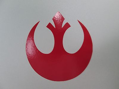 Star Wars inspired decal sticker, Rebel symbol, several colors and sizes avail](Star Wars Decals)